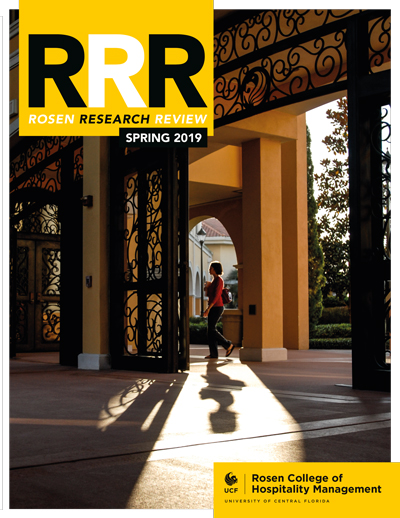 Rosen Research Review magazine cover spring 2019