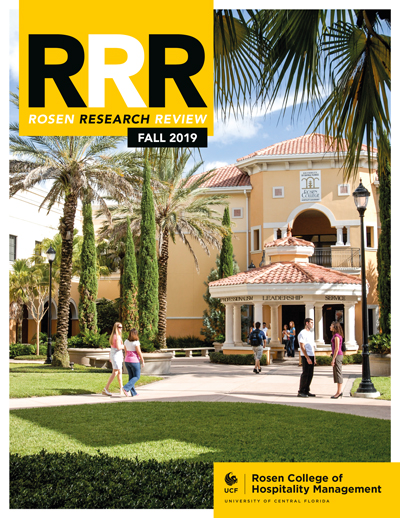 Rosen Research Review magazine cover fall 2019